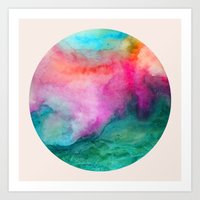 Staring at the Ceiling Art Print