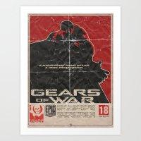 Gears Of War Art Print