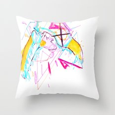 End Me Like a Story Throw Pillow