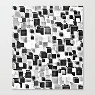 Sugar (monochrome Series… Canvas Print