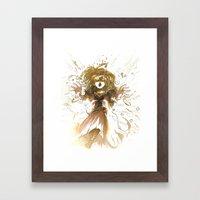 Fallen Princess Framed Art Print