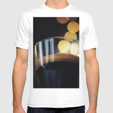 Espresso SMALL Mens Fitted Tee White