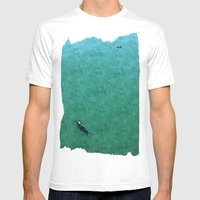 Otters Mens Fitted Tee White SMALL