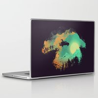 science Laptop & iPad Skins featuring Leap of Faith by Picomodi