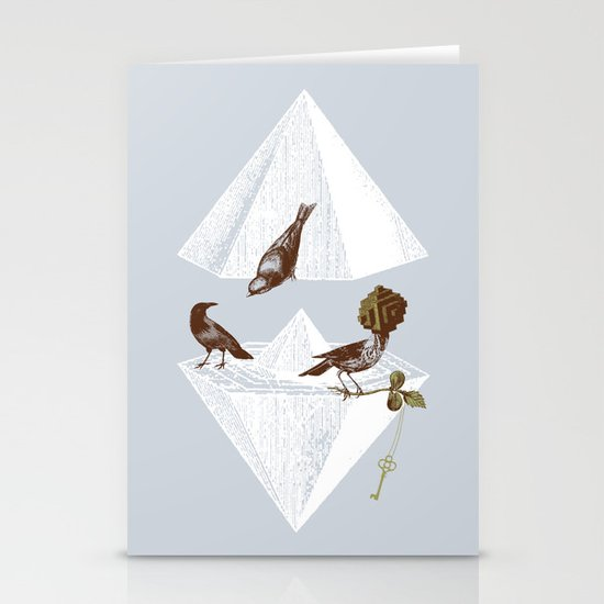 Guardian of Secrets Stationery Card