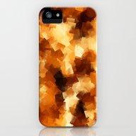 Cubist Fire iPhone (5, 5s) Slim Case
