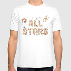 All Stars Mens Fitted Tee White SMALL