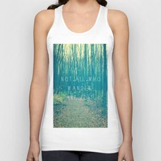 Wander in the Woods Unisex Tank Top