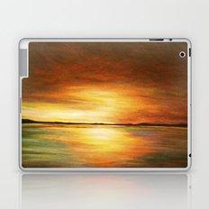 morning coffee and salt air Laptop & iPad Skin