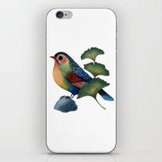 Ginkgo Bird iPhone & iPod Skin