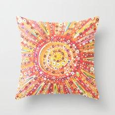 Sun Spots Throw Pillow