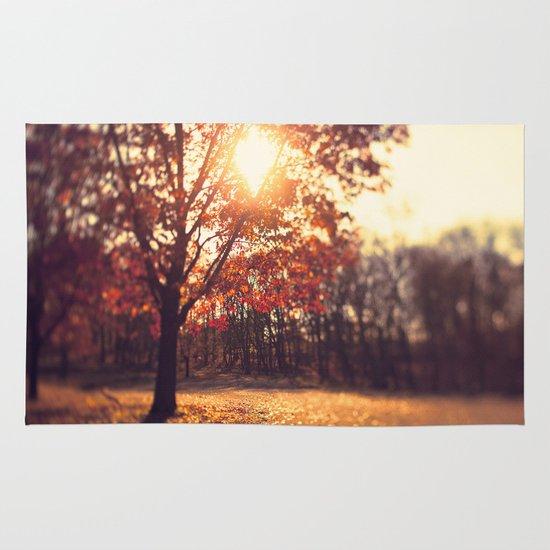 Autumn Sun  Area & Throw Rug