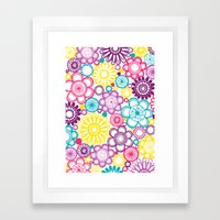 BOLD & BEAUTIFUL Blooms Framed Art Print