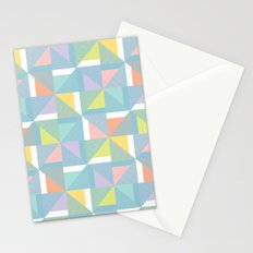 pinwheels - blue Stationery Cards