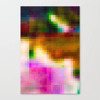 Glitch 003 Canvas Print