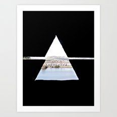 Caerphilly Castle, Wales Art Print