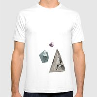 Insightful Mens Fitted Tee White SMALL