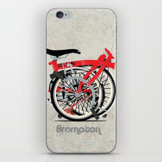 Brompton Bike iPhone & iPod Skin