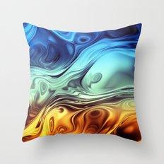 Formula IX Throw Pillow