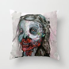 Delicious And Healthy Throw Pillow