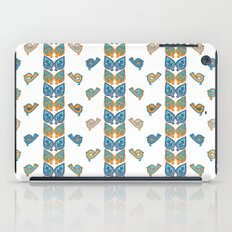 Leaves & Birds Pattern iPad Case