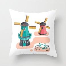 Holland Icon Throw Pillow