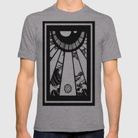 EL MAR LAS NUVES Y UN OJ… Mens Fitted Tee Athletic Grey SMALL