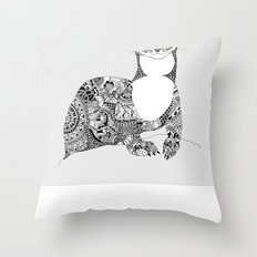 Searching for Dok Throw Pillow