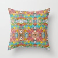 Percolate #6 Throw Pillow