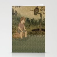 The swamp Stationery Cards