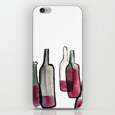 Wine Bottles 2 iPhone & iPod Skin
