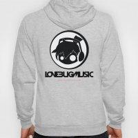 Love Bug Music Logo  Hoody