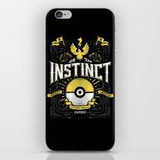 An Instinctual Decision iPhone & iPod Skin