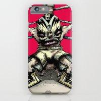 iPhone & iPod Case featuring El Rudo Hurricane Miguel by Gate's Labofakto