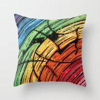 Orixás - Oxumaré Throw Pillow