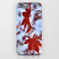 Japanese Red Maple iPhone 6 Slim Case
