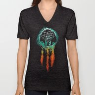 Dream Catcher (the Rusti… Unisex V-Neck