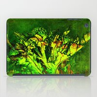 Thistle And Weeds iPad Case