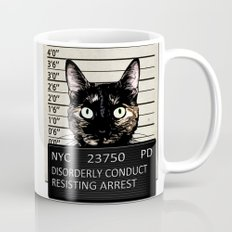Kitty Mugshot Mug