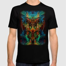 Shaman SMALL Mens Fitted Tee Black