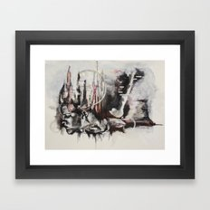 freefalling Framed Art Print