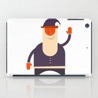 Say Hi To Santa iPad Case