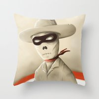 Wild wild death Throw Pillow