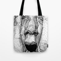 Point Face Tote Bag
