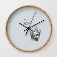 Alaska from above Wall Clock