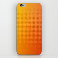 Yellorange Dots iPhone & iPod Skin