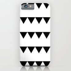 TRIANGLE BANNERS (Black) Slim Case iPhone 6s
