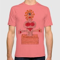 THE CREATURE Mens Fitted Tee Pomegranate SMALL