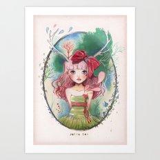 Jolie toi Art Print