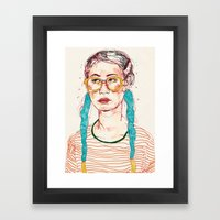 Girl3 Framed Art Print